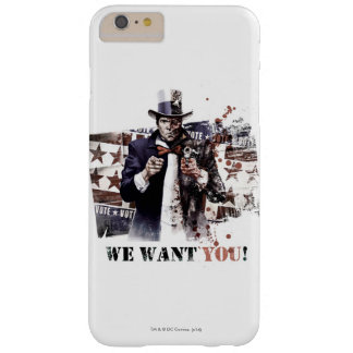 Harvey Dent - We Want You! Barely There iPhone 6 Plus Case