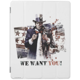 Harvey Dent - We Want You! iPad Cover