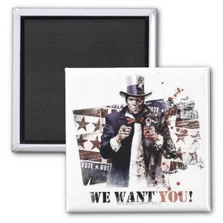 Harvey Dent - We Want You Refrigerator Magnet