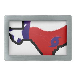Harvey design 3 rectangular belt buckle