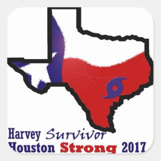 Harvey design 3 square sticker