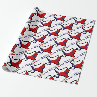 Harvey design 3 wrapping paper