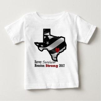 Harvey Design bk wht rd Baby T-Shirt