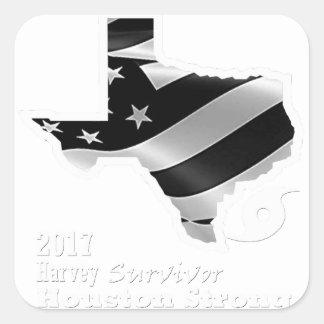 Harvey Design wht txt.gif Square Sticker