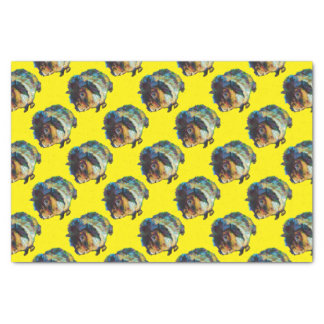 Harvey the Cute Guinea Pig Tissue Paper