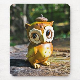 Harvey the Owl III Mouse Pad