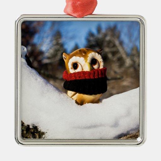 Harvey the Owl IV Christmas Tree Ornaments