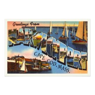 Harwichport Cape Cod Massachusetts MA Old Travel Photograph