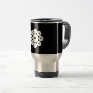 Hasebe coins travel mug