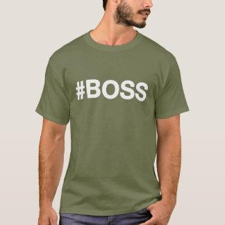 Hash-tag #BOSS Tshirt