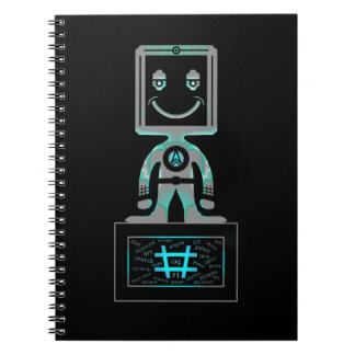 Hash Tag Super hero Spiral Notebook