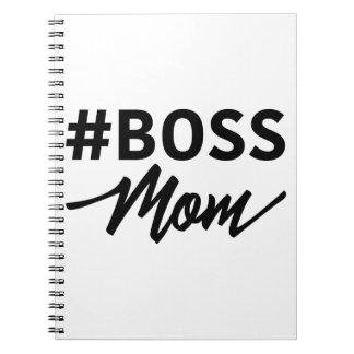Hashtag #BOSS MOM Notebook