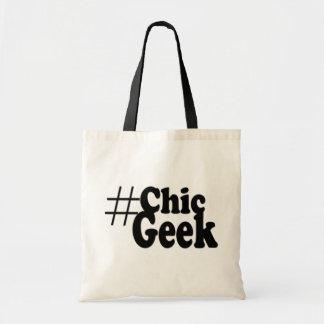 Hashtag Chic Geek Art Gifts Canvas Bags