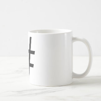Hashtag Coffee cup
