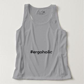 Hashtag ergoholic slogan singlet