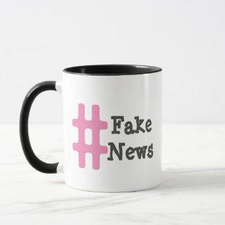Hashtag Fake News Mug