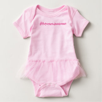 Hashtag Future Rodeo Queen Baby Bodysuit
