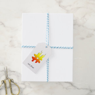 #HASHTAG - Hash Tag Symbol on Fire Pack Of Gift Tags