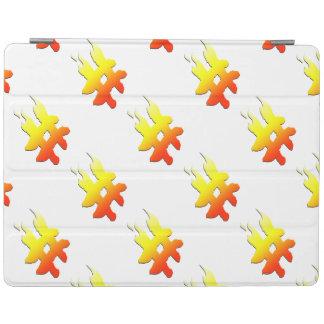 #HASHTAG - Hash Tag Symbol on Fire iPad Cover