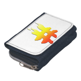 #HASHTAG - Hash Tag Symbol on Fire Wallets