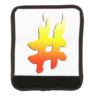 #HASHTAG - Hash Tag Symbol on Fire Handle Wrap