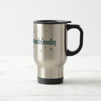 Hashtag Impeach the Groundhog Humorous Travel Mug