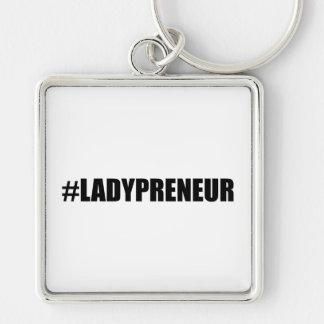 Hashtag Lady Entrepreneur Key Ring