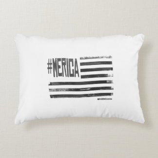 Hashtag 'Merica Flag Decorative Cushion