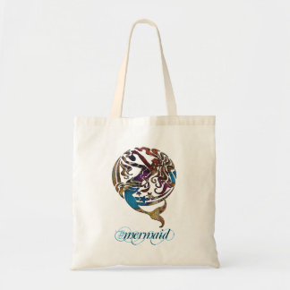 Hashtag Mermaid Reusable Tote Bag