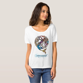 Hashtag Mermaid Slouchy Boyfriend T-Shirt