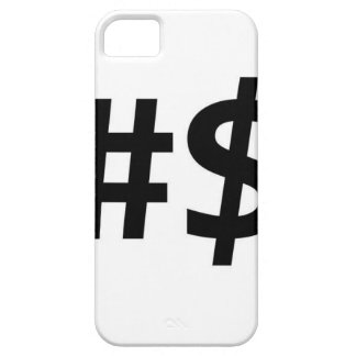 hashtag money barely there iPhone 5 case