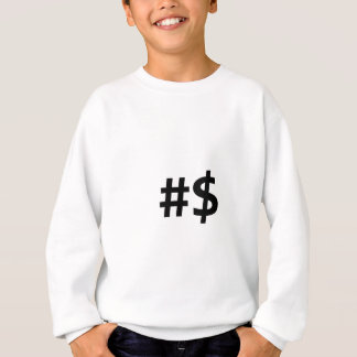 hashtag money sweatshirt