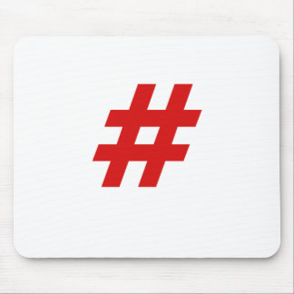 Hashtag Mouse Pads
