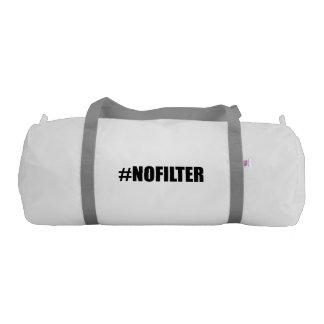 Hashtag No Filter Gym Bag