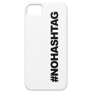 #HASHTAG...not. iPhone 5 Cover