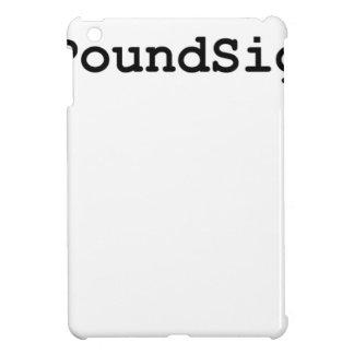 Hashtag Pound Sign iPad Mini Covers