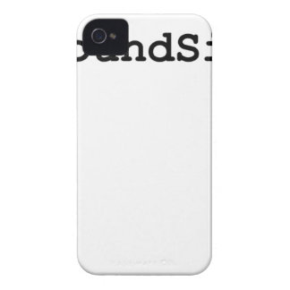 Hashtag Pound Sign iPhone 4 Cover