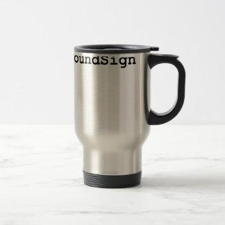 Hashtag Pound Sign Travel Mug