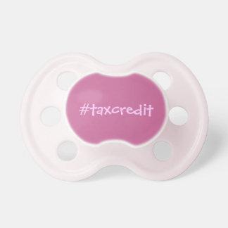 Hashtag tax credit dummy