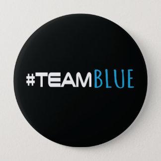 Hashtag Team Blue Gender Reveal Button
