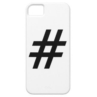 hashtag text symbol letter iPhone 5 covers