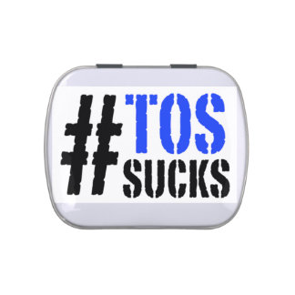 Hashtag TOS Sucks Travel Pill Tin