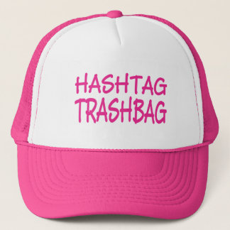 Hashtag Trashbag cap hat from Bent Sentiments