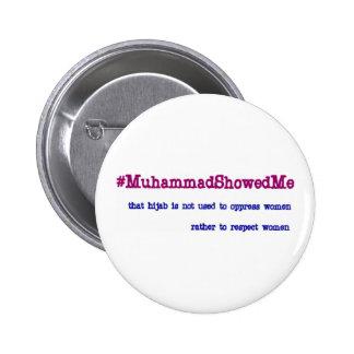 Hashtag Twitter Storm Muhammad Showed Me 6 Cm Round Badge