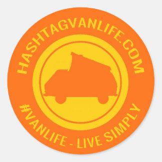 Hashtag Vanlife Sticker