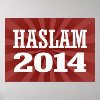 HASLAM 2014 POSTER