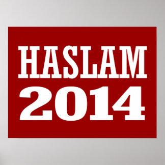 HASLAM 2014 POSTERS