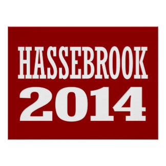 HASSEBROOK 2014 POSTER