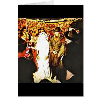 Hassidic Wedding Card
