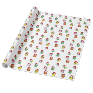Hassle Castle Monster Christmas Gift Wrap